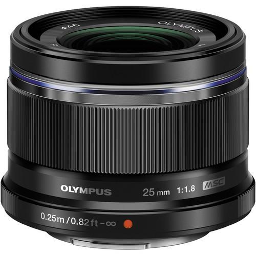 Olympus M.Zuiko Digital 25mm f/1.8 Lens - [Black]