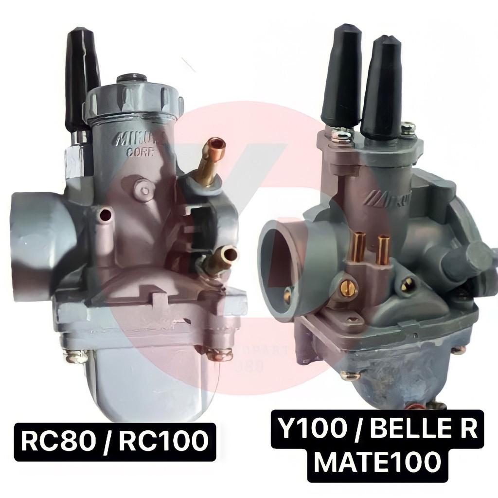✅✅✅♘คาร์บู เดิม SUZUKI RC80 , RC100 Y100 MATE100 BELLE R