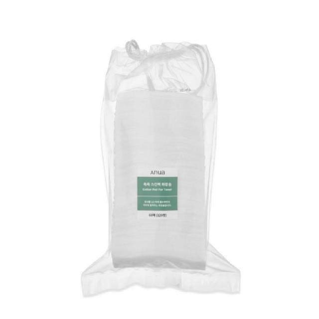 ส่วนลด50 ใส่โค้ด K95TRT Anua Cotton Pad for Toner 60 pads (สำลีสำหรับโทนเนอร์)