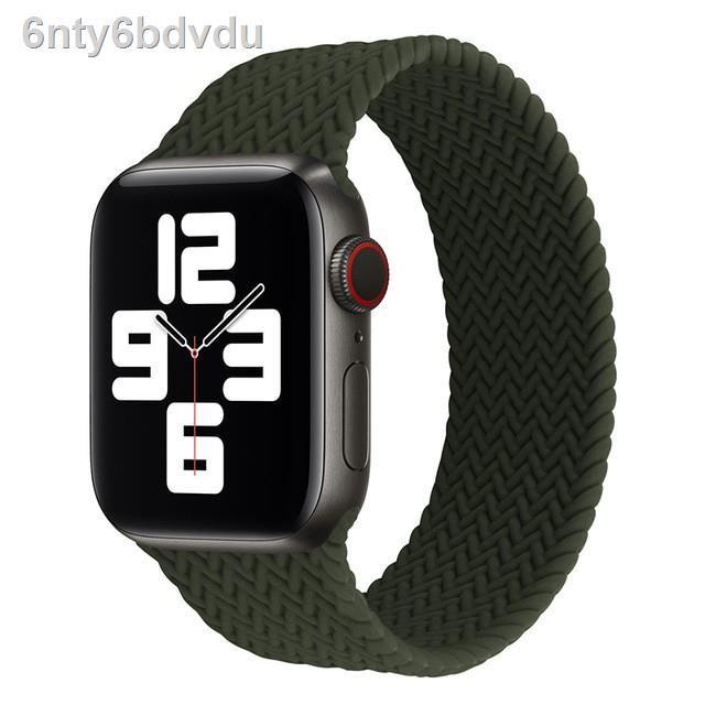 ❀┅☍Technology fashion สายนาฬิกา สาย applewatch for Apple Watch 6 se 5 Band Nylon Loop iwatch Series 4 3 40 มม. 44 มม 4