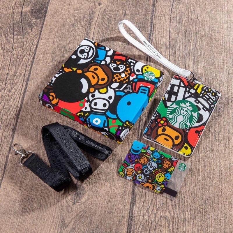 Starbucks baby milo card holder/card เปล่า