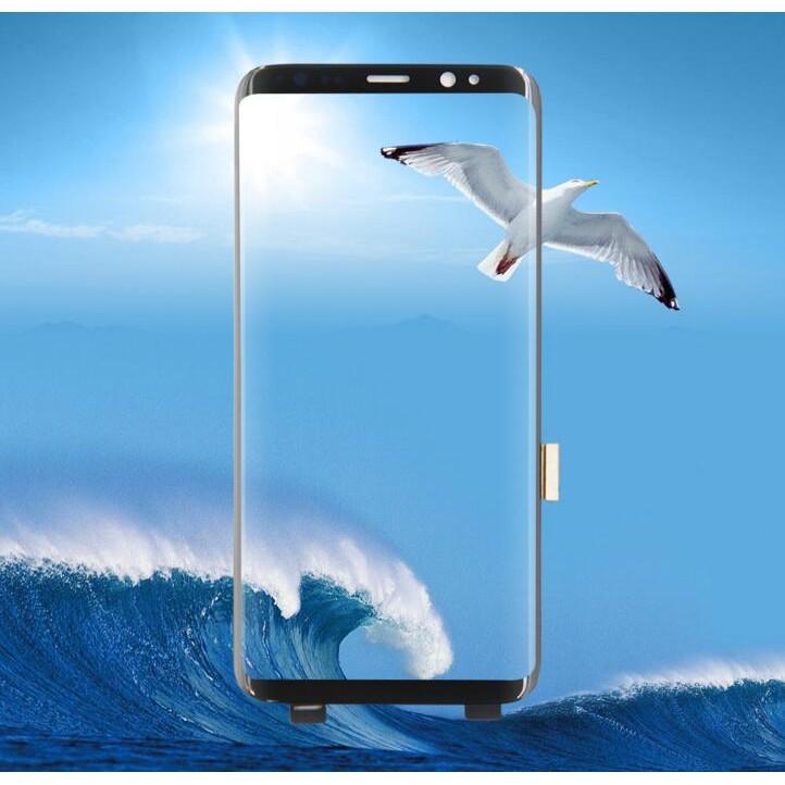 Cocosamsung Galaxy S8 Plus / S8 + G955 / F ชุดอุปกรณ์ซ่อมแซมหน้าจอสัมผัส