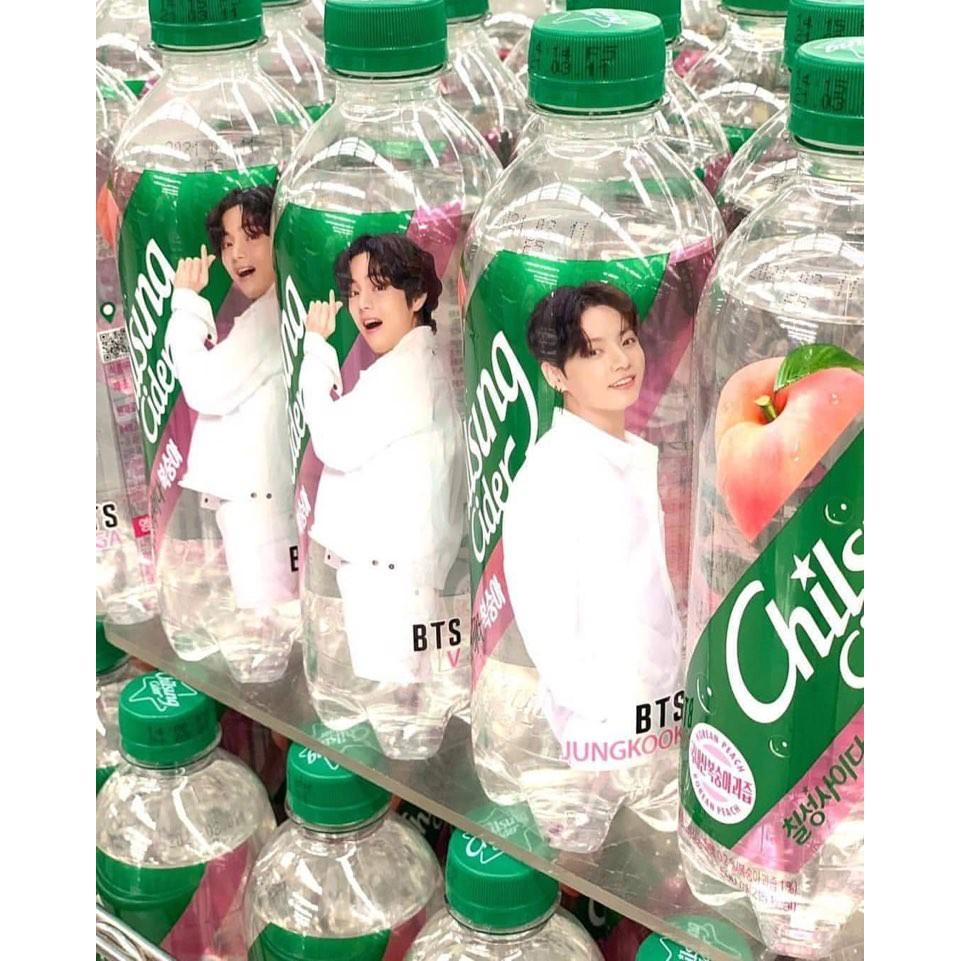 【Kstairway】BTS x CHILSUNG CIDER (PEACH Flavor)