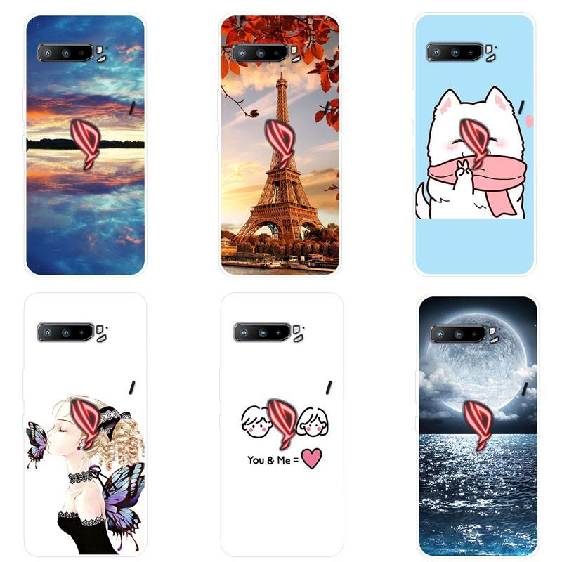 เคสสำหรับ Asus ROG Phone 3 เคสซิลิโคน Cover Asus ROG Phone 3 Case Silicone เคส