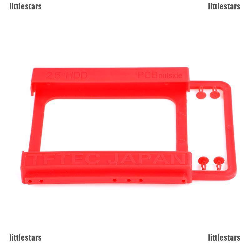 NEW 2.5 to 3.5 Adapter Bracket SSD HDD Notebook Mounting Tray Caddy Bay Post