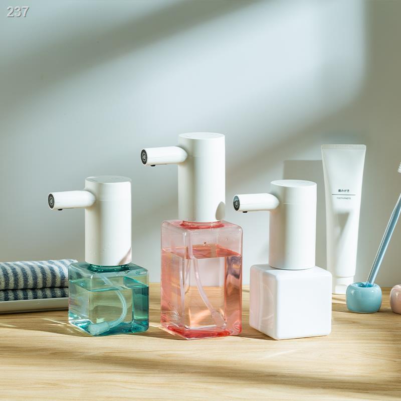 เจลล้างมืออัตโนมัติ✙☒เครื่องเจลทำความสะอาดมือโฟมล้างมืออัตโนมัติ Lebath ตู้ทำสบู่อัจฉริยะ ขวดเจลล้างมือเด็กในครัวเรือนต้