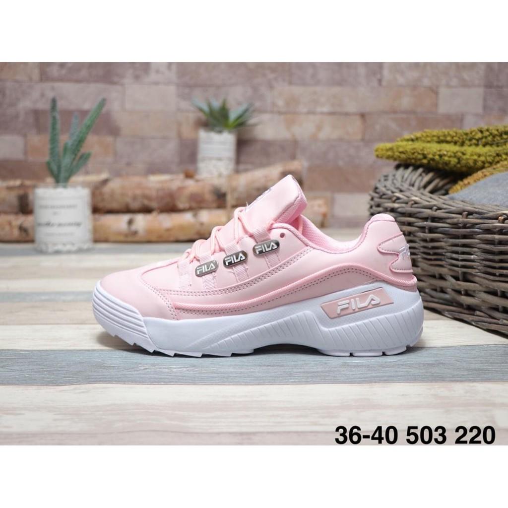 Fila FHT RJ-Dash รองเท้าวิ่งสีชมพูสำหรับผู้หญิง
