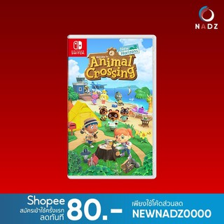 Nintendo Switch : Animal Crossing New Horizon | English | USA