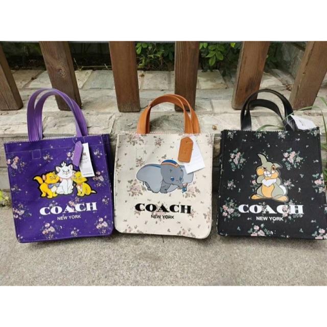 กระเป๋าผ้า Coach X DISNEY