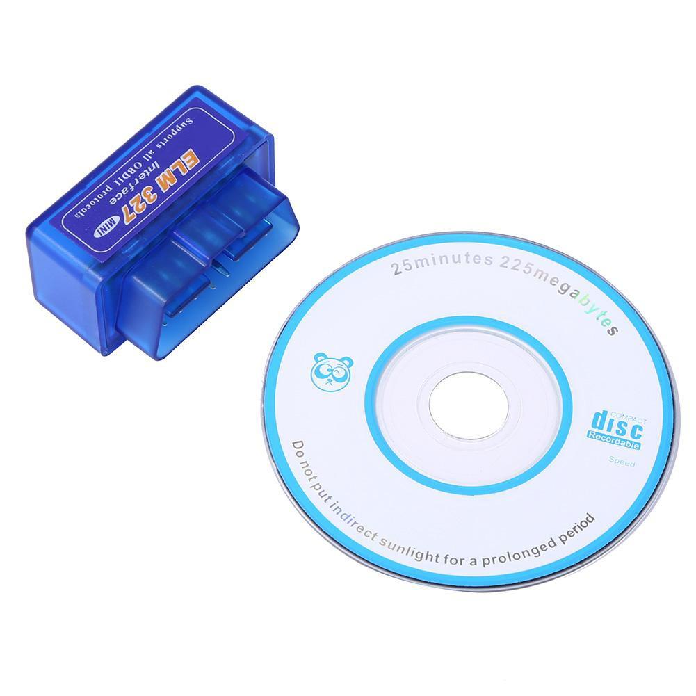 [ ddouble ] iecar OBD 2 1 Mini ELM 327 Obd 2 Bluetooth Auto Scanner OBDII 2