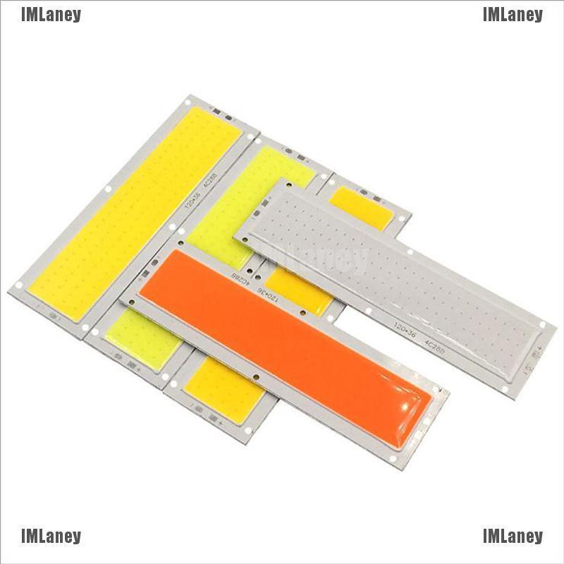 [imlaney] แผงหลอดไฟ 12v 10w 100lm/w Led ขนาดใหญ่ 120x36มม.