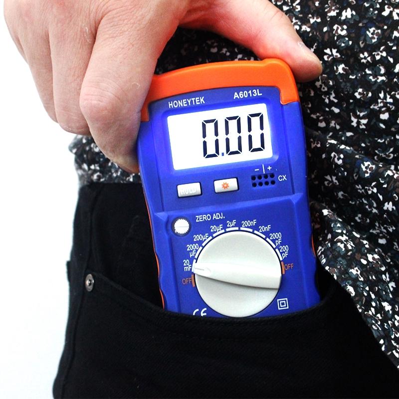 Honeytek A6013L Capacitor Tester Tools & Home Improvement Testers ...