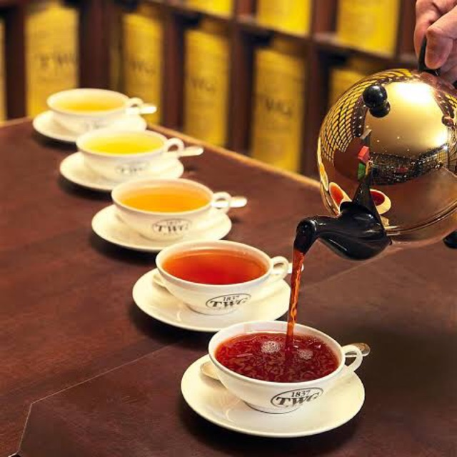 TWG TEA 🍃 40กรัม (jasmine/mint/orange blossom)