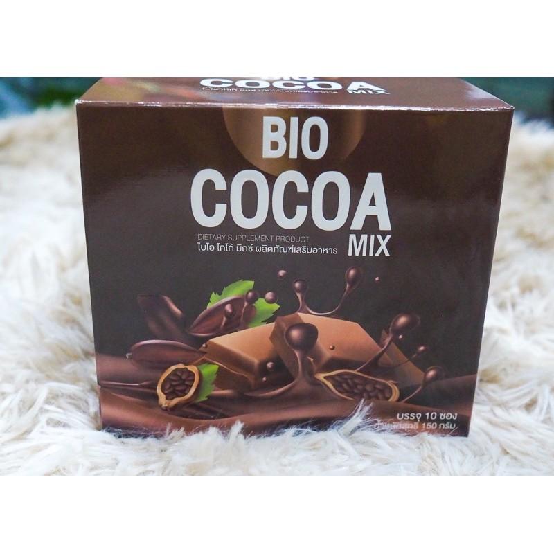 BIO COCOA โกโก้ช่วยดีท็อก+แก้ว