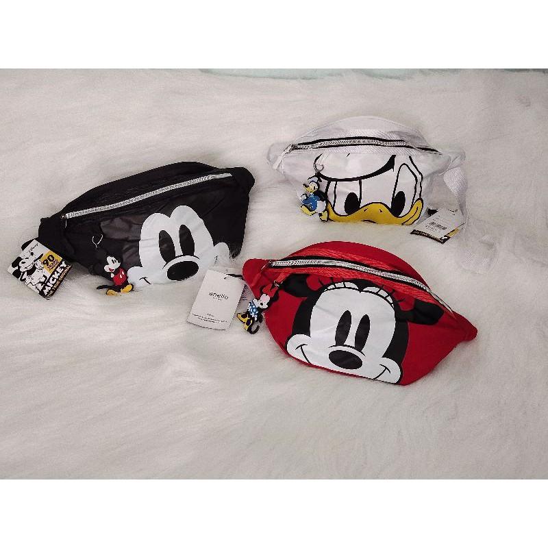 กระเป๋าคาดอก คาดเอว Anello Mickey