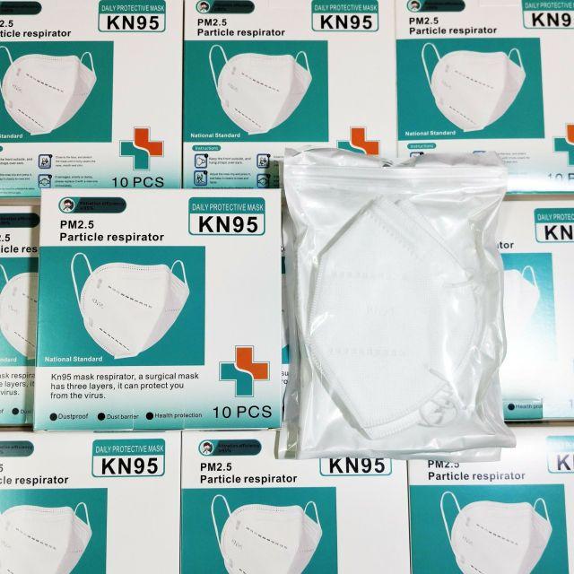 หน้ากากN95 หน้ากากPM2.5 1กล่อง10ชิ้น รุ่นวัสดุหนาแน่นพิเศษ ผลิตจากโรงงานมาตรฐาน หน้ากากอนามัย Mask หน้ากาก หน้ากาก3M