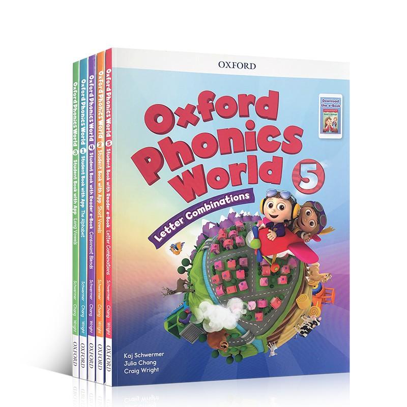 หนังสือเกี่ยวกับวรรณกรรมเฟสโลกภาษาอังกฤษ Oxford 1-2 - 3-4 - 5 Books