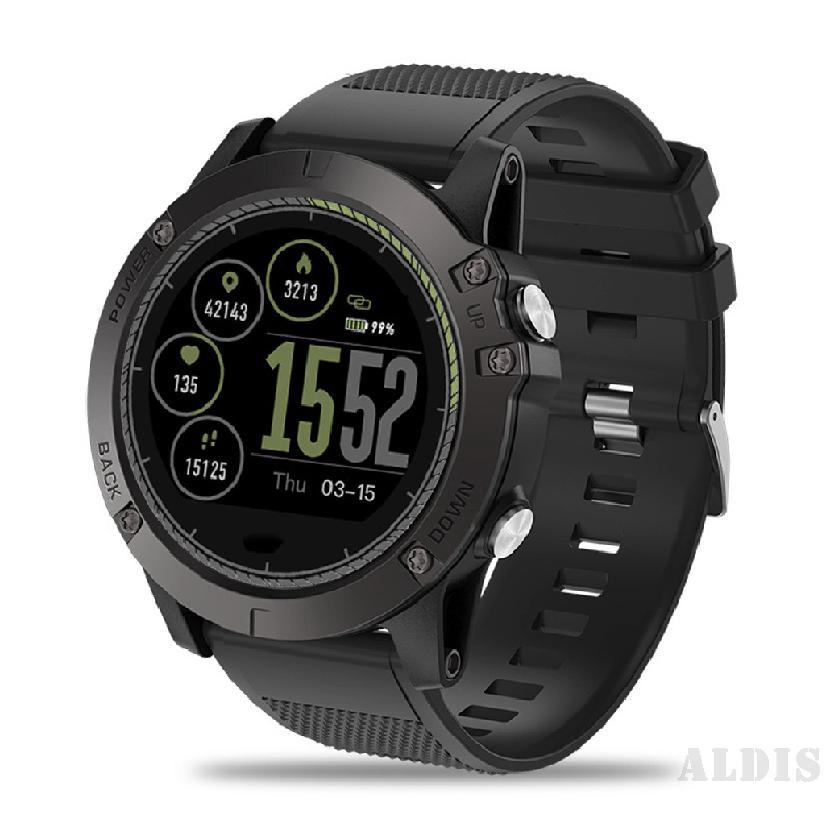 Zeblaze Vibe 3 HR Sports Smart Watch - ทนทาน Out Inside HR Monitor 3D UI บันทึกกิจกรรมตลอดทั้งวัน 1.22 'IPS Smart Watch