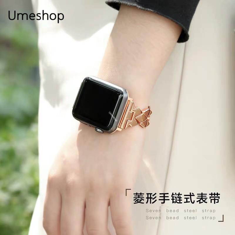 สาย applewatch HOT ใหม่!!🔥สาย สำหรับ Apple Watch สาย แบบเหล็ก ปรับได้   38/40, 42/44 mm. Series 6 /5/4/3/2/1 series SE