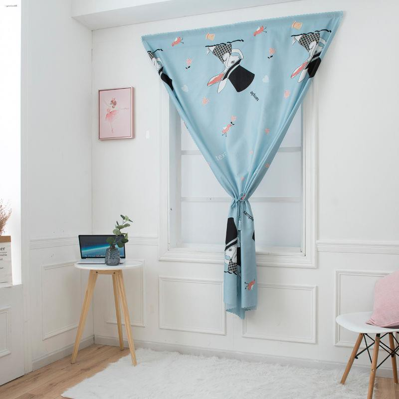 ♈◕✓ผ้าม่าน ผ้าม่านทึบ ผ้าม่านสำเร็จรูป กันยูวี70%—100%  ผ้าม่านตีนตุ๊กแกสำเร็จรูปห้องนอนหอพักห้องเช่าผ้าม่านผ้าม่านสั้