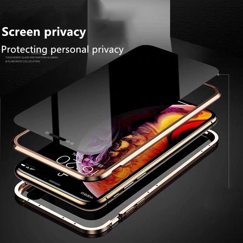 เคสโทรศัพท์มือถือแบบสองด้านสําหรับ iphone x/xs xr xs max iphone 11 pro 11