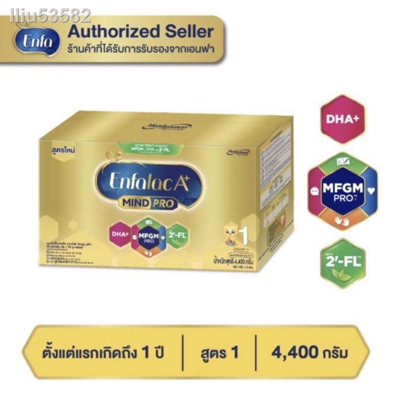♨™♙รถบังคับชุดเด็กทิชชู่เปียกนมขวดนม❅◕[ขายยกลัง-2กล่อง] ใหม่ นมผงEnfalacA+1 เอนฟาแล็ค เอพลัส มายด์โปร ดีเอชเอ พลัส สูตร