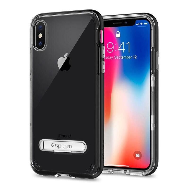 SPIGEN เคส Apple iPhone X Case Crystal Hybrid