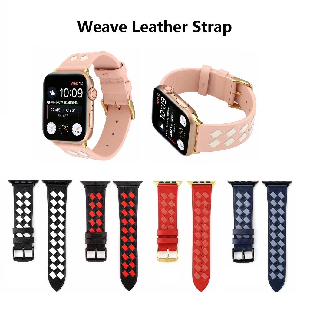 【Apple Watch Strap】สายนาฬิกาข้อมือ Apple Watch Series 6 se 5 4 3 2 1 ระบายอากาศ