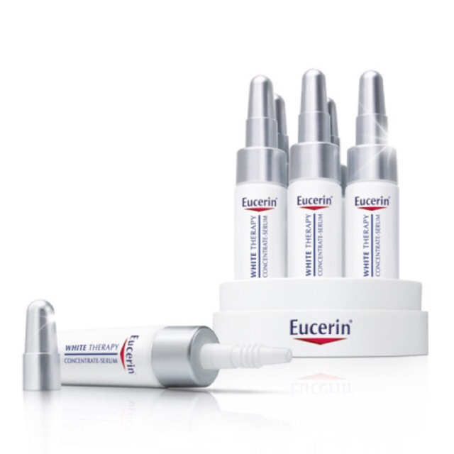 Eucerin White Therapy Concentrate Serum x 6หลอด