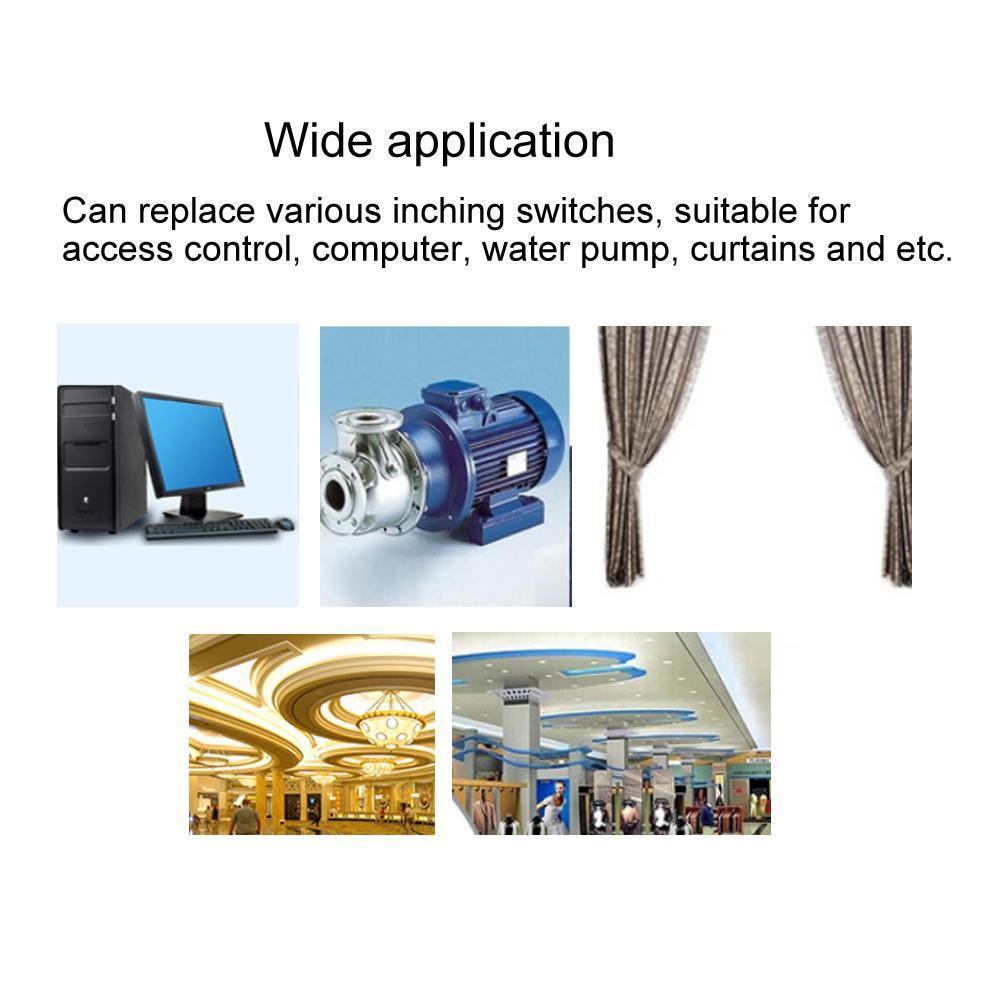โมดูล 433 MHz Wireless WiFi Smart Switch DC 5V inching Self Locking Relay