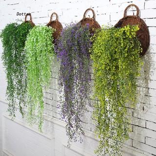 Hanging Ivy Garland Plants Vine Plastic Foliage Flower Osier Wisteria Home Decor