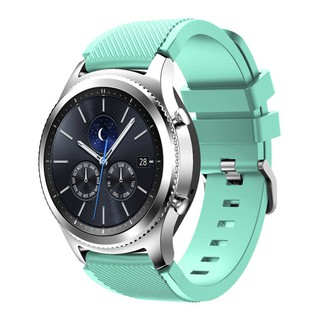 Gear S3 Frontier/Classic Watch Band 22mm Silicone Sport Replacement  wriststrap