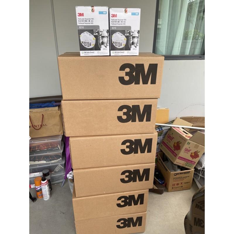 3M N95 8210 ยกลังพร้อมส่งค่ะ