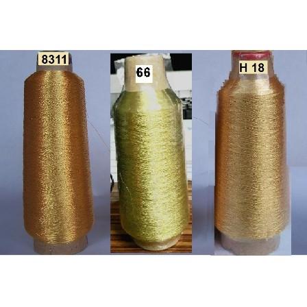ไหมปักดิ้นสีทอง ดิ้นสีทองปักคอม ดิ้นทอง ไหมปักสีทอง ดิ้นทองปักคอม ราคาถูก GOLD MATALIC YARN