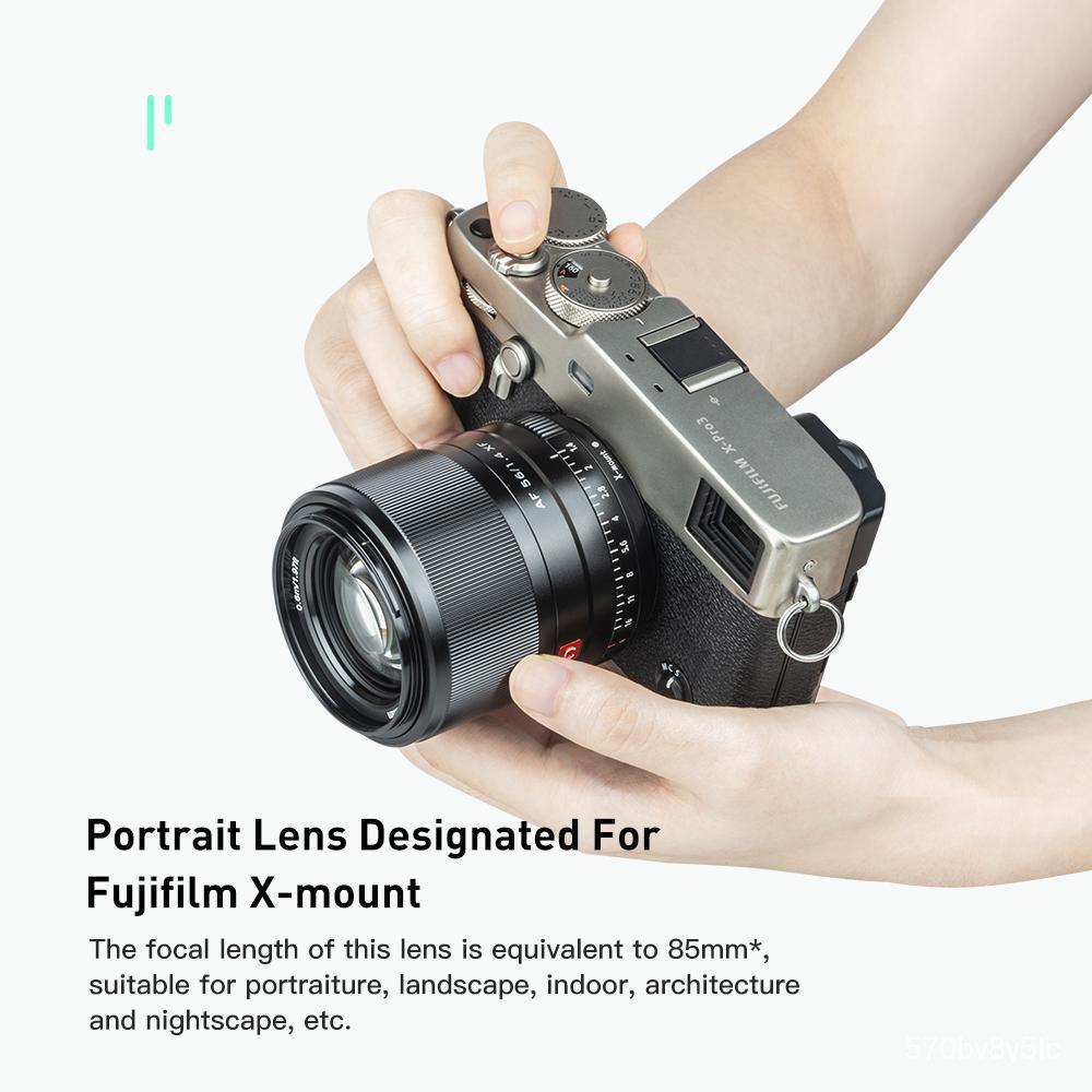 Viltrox 56mm F1.4 XF Large Aperture Autofocus Portrait Lens for Fujifilm X-mount Cameras X-T30/X-T3/X-PRO3/X-T200/X-E3/X