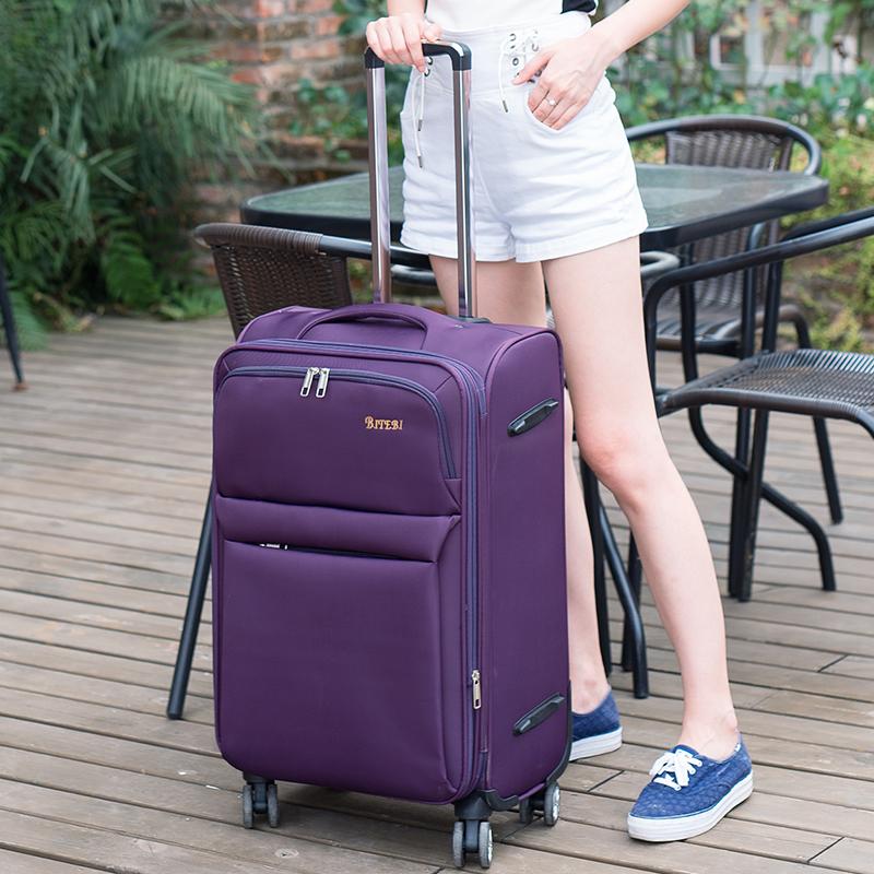 ขายผ้า Oxford รถเข็นล้อและหญิง20นิ้ว24กระเป๋าเดินทาง, กระเป๋าเดินทาง, กระเป๋าเดินทาง26นิ้ว