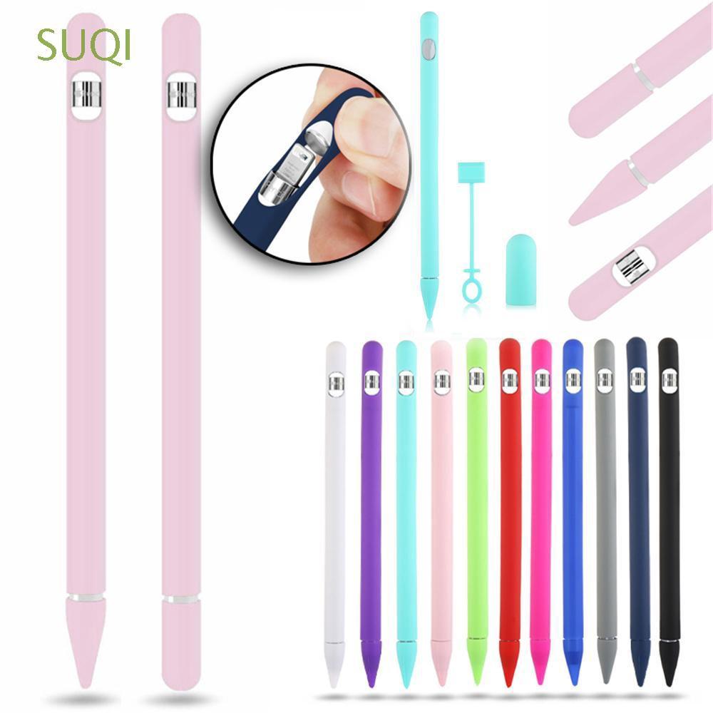 พร้อมส่ง/☋☎Wrap Dust Proof Silicone Case Cover For Apple Pencil 1st / 2nd Generation