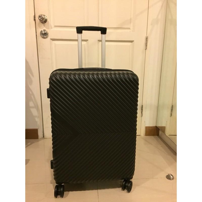 ขายกระเป๋าเดินทางCaggioni 24นิ้ว สีดำ