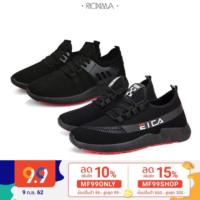 RichmaMen [ SM1904, SM1905 ] รองเท้าผ้าใบแบบสวม รองเท้าผ้าใบผู้ชาย *** หน้าเท้ากว้างแนะนำเพิ่ม 1 ไซส์ ***