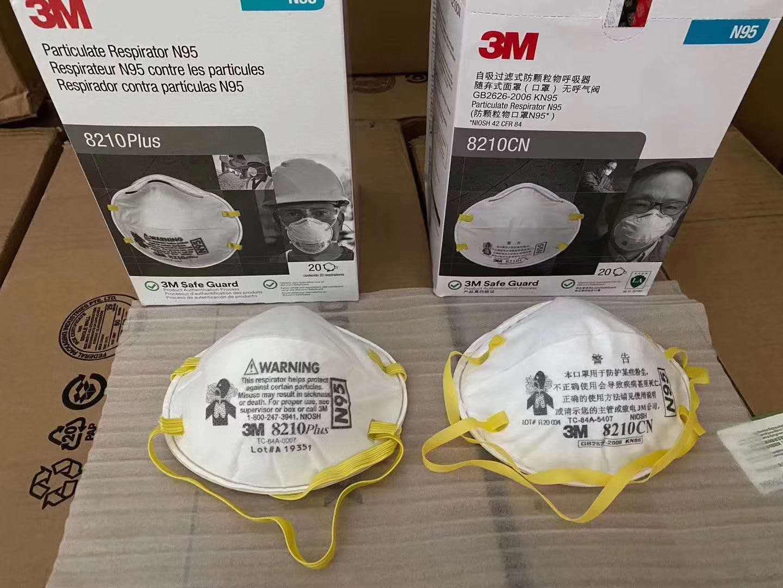 3M1860Spot Direct 3M8210V Anti-PM2.5 Mask N95 Mask