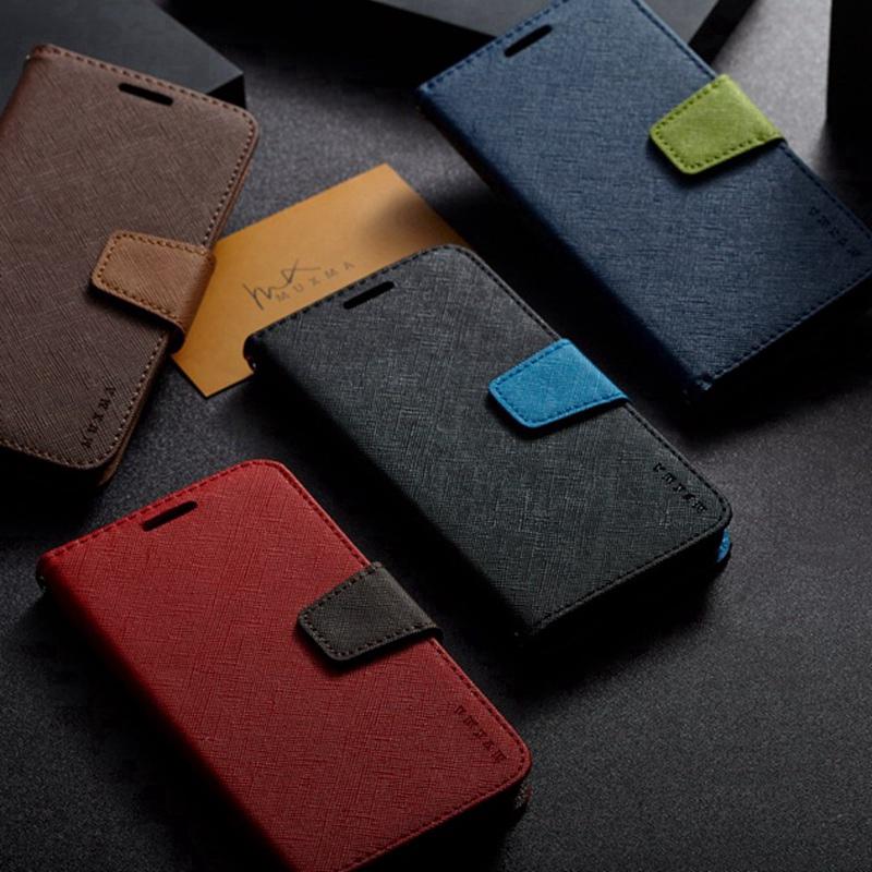 Faux Leather Casing Samsung Galaxy A5 A6 A8 Plus A7 A9 2017 2018 A520F A720F C9 Pro Flip Wallet Case