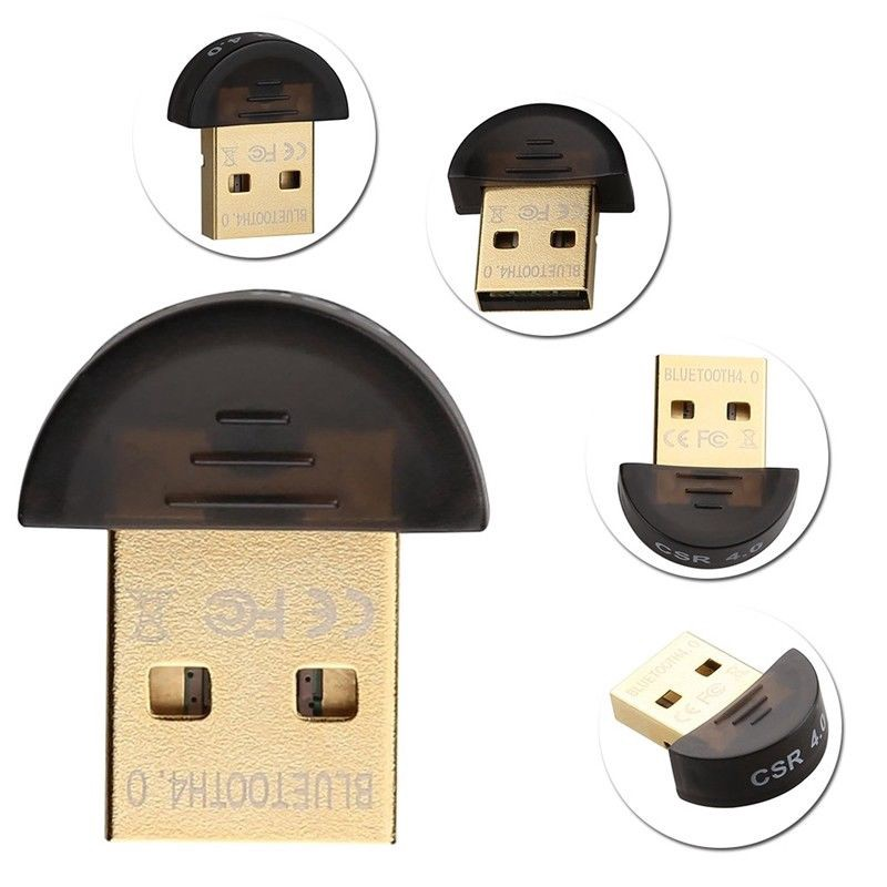 1PC New Bluetooth CSR V4 0 USB Dual Mode Adapter Dongle Receiver WIN 7 8 10