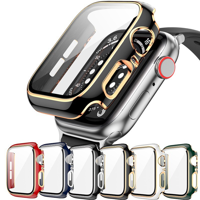 Apple Watch Case Fashion Protective Cover for iWatch 6 SE 5 4 3 2 1 Size 38mm 40mm 42mm 44mm Applewatch