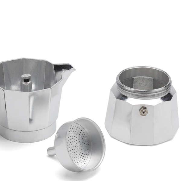 เครื่องชงกาแฟ Moka pot เตาไฟฟ้าชงกาแฟแบบใช้มือทำอาหารในครัวเรือนแบบพกพาหม้อดริปเข้มข้นอิตาเลี่ยนเครื่องชงกาแฟอิตาลี