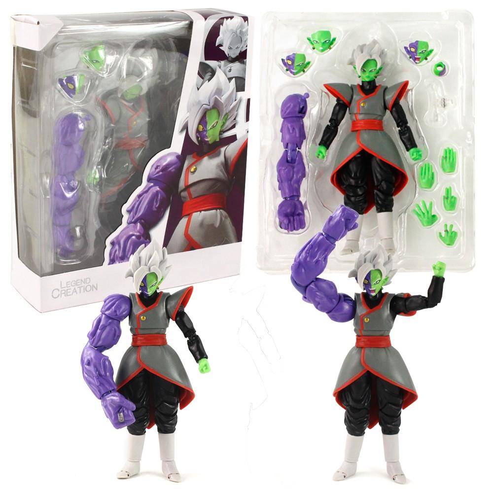 ฟิกเกอร์โมเดล Dragonball Shf King Kai Zamasu 15 ซม . พร้อมกล่อง