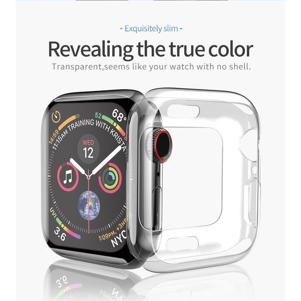 นาฬิกาโทรได้。 Hoco Case เคสแบบนิ่ม For Apple Watch 44mm / 40mm