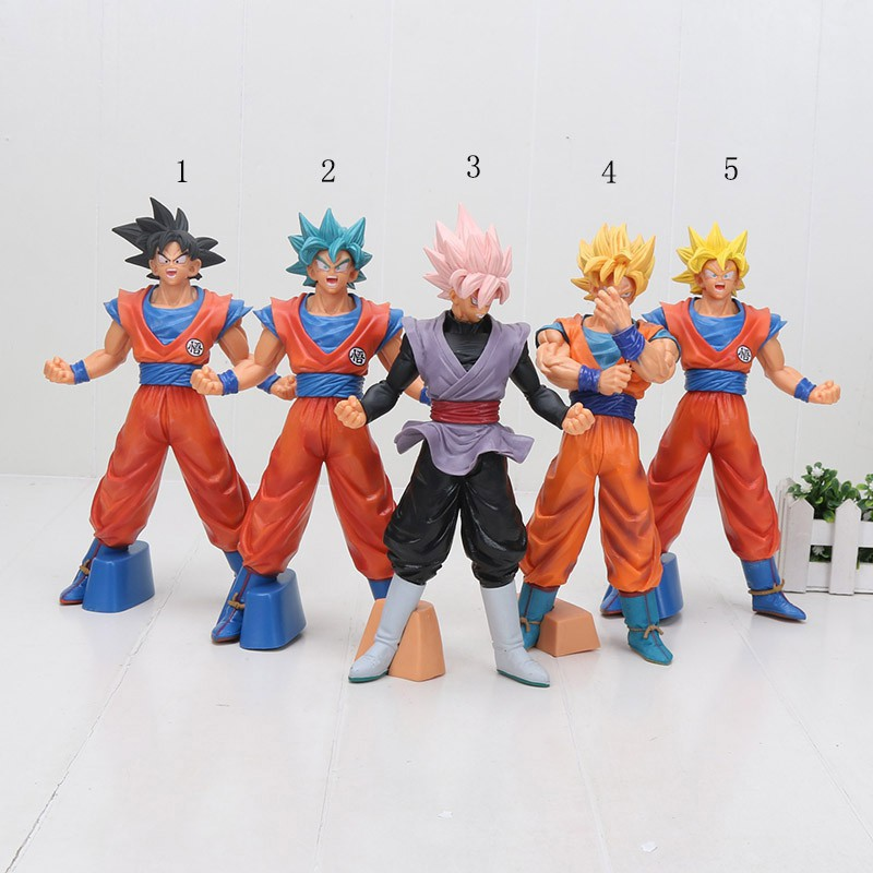 26cm Dragon ball z super saiyan son goku of Soldiers PVC Action Figure Toys doll