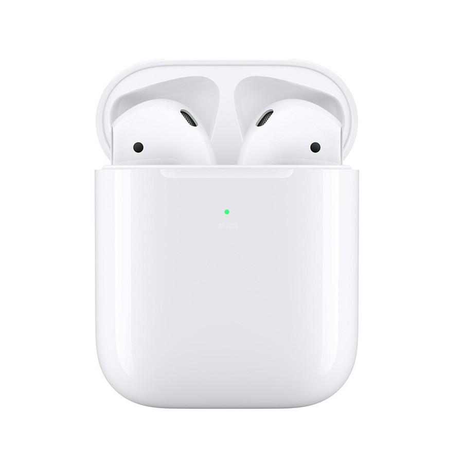 หูฟังบลูทูธ ไร้สาย Tws Apple Airpods 2nd พร้อมเคสชาร์จสําหรับ Iphone 11 Xr 7 8 Plus Ipad