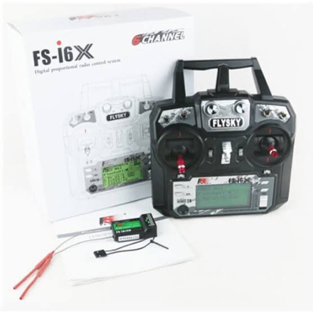วิทยุ FlySky FS-i6x 2.4G 6CH RC Transmitter เครื่องบินบังคับ diy D.I.Y