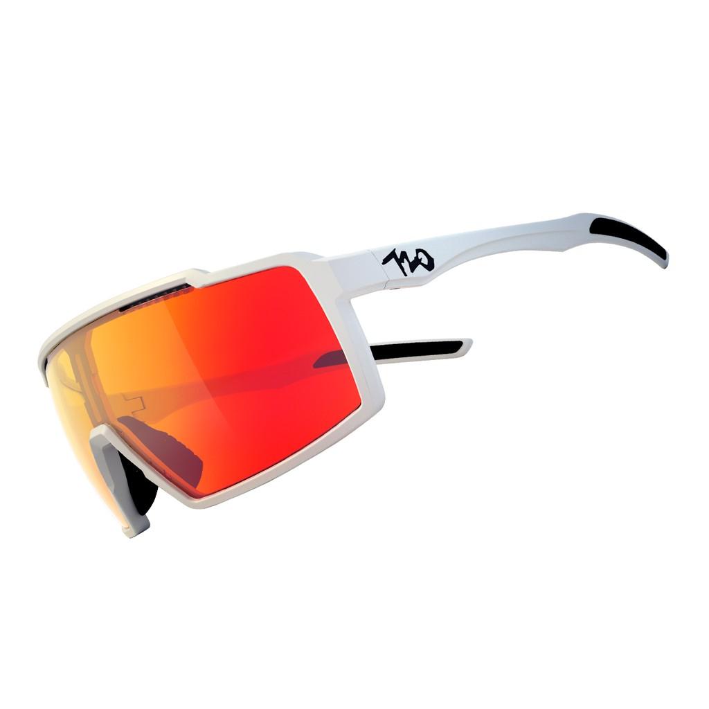 แว่นตากันแดด 720armour รุ่น A-fei สีกรอบ Matte White+Brown Orange Flash สีเลนส์